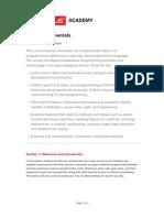 Java Fundamental V1 -1