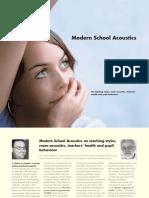 Acoustic Ergonomics of Schools research report by Bremen University, Germany.