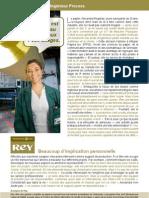 Alexandra Regairaz, ingénieur Process à l'usine de Saillat