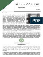 Newsletter 4 Trinity Term 2012