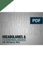 Surgery, Toxicology, Urology