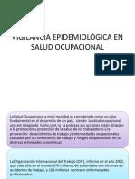 VIGILANCIA EPIDEMIOLÓGICA EN SALUD OCUPACIONAL