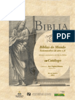 Biblias Do Mundo Catalogo Biblioteca Nacional