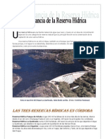 Relatos Reserva Dique La Quebrada