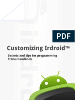 Customizing Irdroid - Secrets and tips for programming; Tricks HandBook