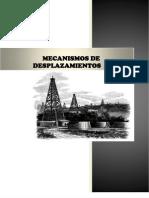 Mecanismos de Desplazamientos de Los Fluidos en Los Yacimientos