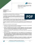 Informe sobre fiscalización del cumplimiento de las normas sobre transparencia activa en la Municpalidad de Chanco.