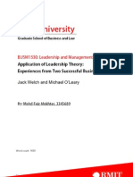 Application of Leadership Theory, By Mohd Faiz Mokhtar, 3345689