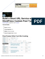 How to Build a Shortened URL Service With WordPress Custom Post Type _ Wptuts+
