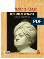 The Vedanta Kesari August 2012