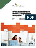 Intelligent Message Filter Deployment Guide_DE_V1