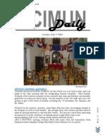 CCIMUN Daily - May 9, 2004