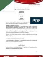 Código Penal para el Estado de Chiapas
