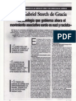 Entrevista a José Gabriel Storch de Gracia