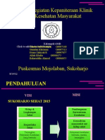 Presentasi Puskesmas Mojolaban
