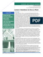 Own Rent Research Paper 2012