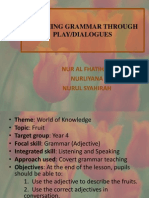 Teaching Grammar Through Play