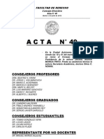 Acta Nº 49 (03-07-2012)