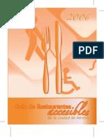 Guía de Restaurantes accesibles de la ciudad de México