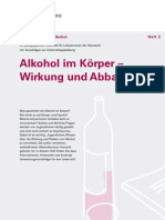 Alkohol Koerper