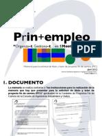 Propuesta Proyecto Fin de Carrera Vivero de Empresas Innovacion + Prevencion de Riesgos Laborales + Empleo