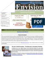 Envision Newsletter - Summer 2012