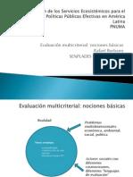 Evaluación de los Servicios Ecosistémicos para el Diseño de Políticas Públicas_Rafael Burbano
