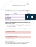 Vocabulario- Actividades de Ocio (Nivel Intermedio B1-B2)