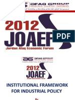 Institutional Framwork for Industrial Policy (AFAQ 2012)