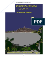 M.P.Hartono, The Mystical World of Java, part 1