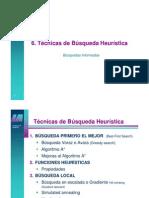 Tema 6 - Busqueda Heuristica