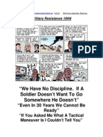 Military Resistance 10H6 No Discipline