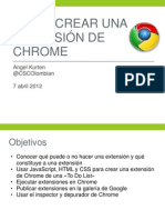 Creando Una Extension de Chrome