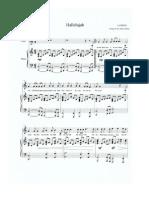 Sheet Music_ Rufus Wainwright - Hallelujah