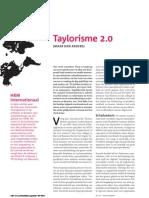 Taylorisme 2.0