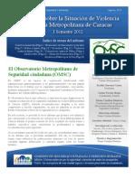 Informe OMSC I Semestre 2012