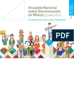 Encuesta Nacional  sobre Discriminación en México. ENADIS 2010. Resultados sobre niñas, niños y adolescentes