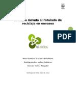 Informe Completo Reciclaje Primera Mirada Al Rotulado de Envases en Chile Version Final2 17julio12-1