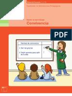 Convivencia, cuadernillo de orientaciones pedagógicas