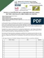 pétition FCDE- continuité Promenade Vallée de l'Orge