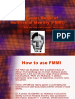 Factor Model of Multiracial Development Color