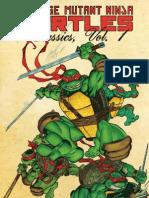 Teenage Mutant Ninja Turtles Classics Vol. 1 Preview