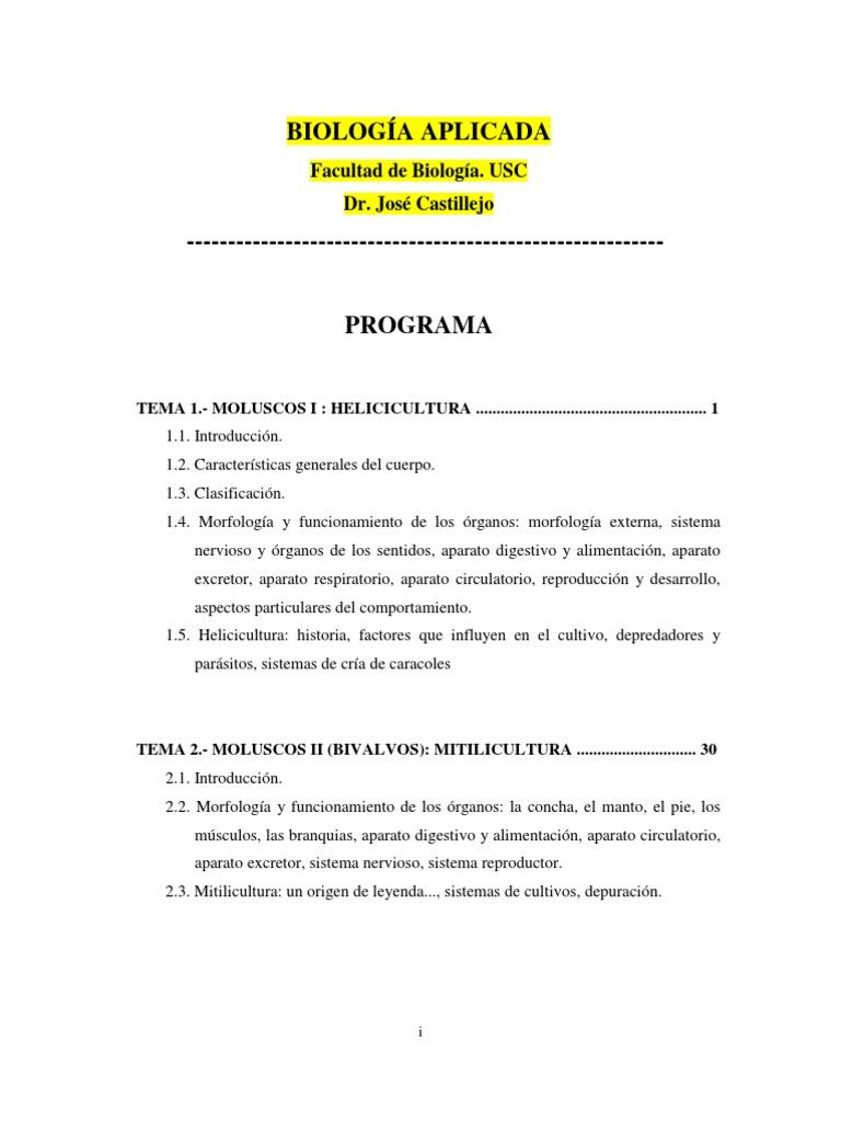 LIBRO Biologia Aplicada Dr Castillejo