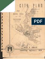 1928 Austin Comprehensive Plan - Koch and Fowler