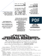 IRS Scam Federal Reserve White