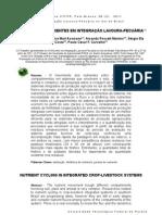 2011 - ANGHINONI et al. - CICLAGEM DE NUTRIENTES EM INTEGRAÇÃO LAVOURA-PECUÁRIA