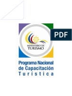 Programa Nacional Capacitacion Turistica