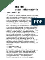 Síndrome de Respuesta Inflamatoria Sistémica Y SHOCK