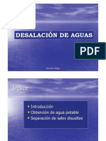 Desalacion Aguas