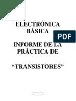 Informe de la práctica transistores - copia